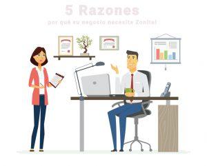5 razones su negocio necesita zonitel